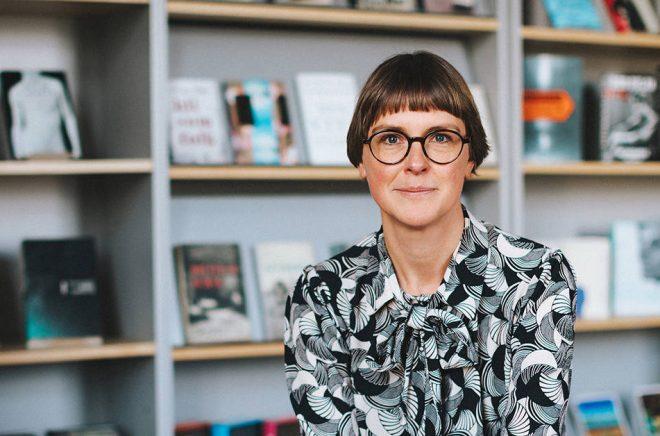 Helena Lindstedt, ny utvecklingschef på Norstedts Förlagsgrupp. Foto: Kajsa Göransson.