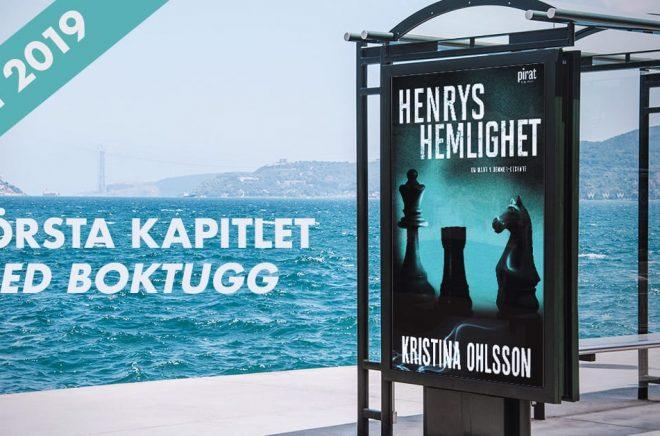 Boken Henrys hemlighet av Kristina Ohlsson.