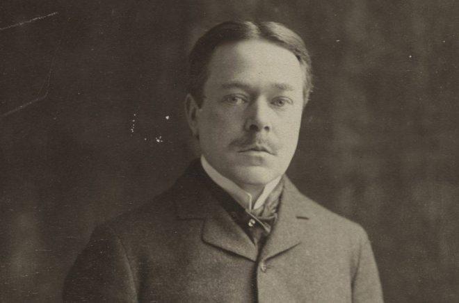 Hjalmar Söderberg år 1907. Foto: Herman Hamnqvist/Wikimedia Commons