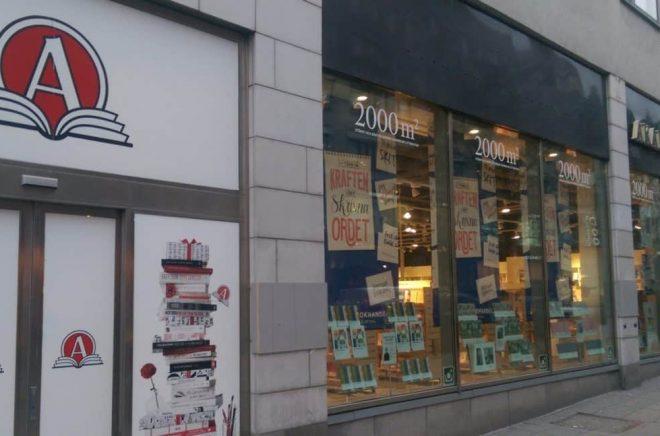 Akademibokhandeln Mäster Samuelsgatan Stockholm