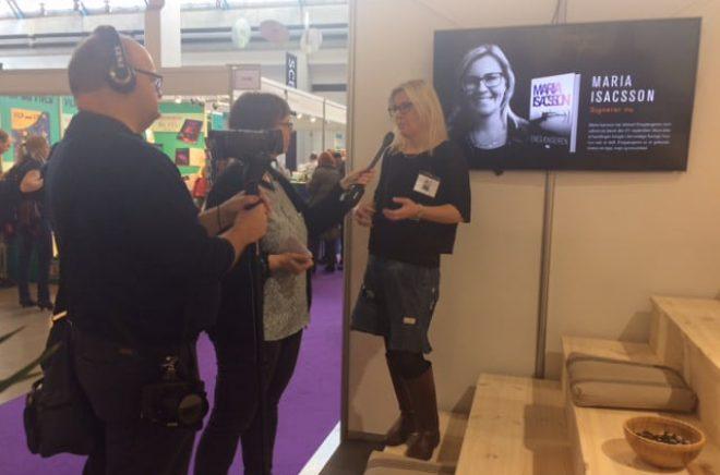 Det var besöksrekord på Bogforum i helgen och de svenska författarna fick mycket uppmärksamhet av den danska publiken.