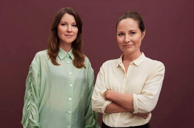 Ida Ståhlnacke (tv) och Emma Boëthius (th). Foto: Mattias Bardå/Storytel
