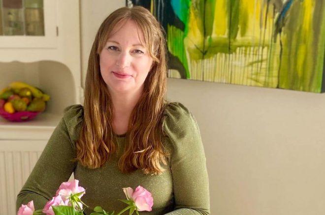 Ida Fryklund debuterar som författare. Foto: Tilde Fryklund