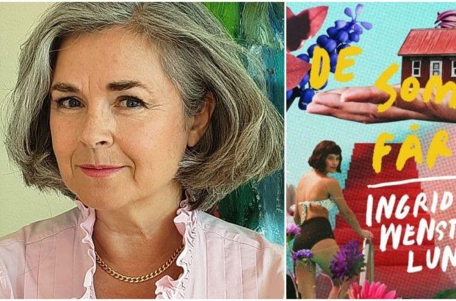 Ingrid Wenström Lund debuterar med feelgoodromanen De som får. Foto: Privat