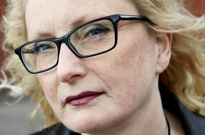 Författaren Ingrid Elfberg. Foto: Bengt Alm