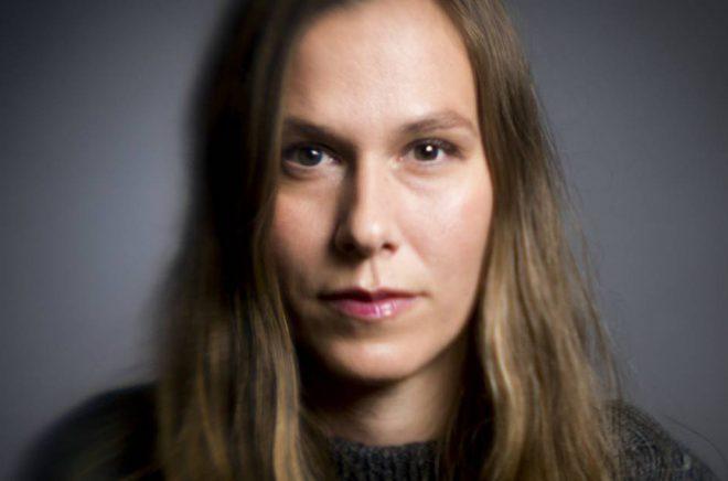 Nina Ivarsson är nominerad till Nordiska rådets barn- och ungdomslitteraturpris 2019 för sin debutroman Risulven Risulven. Foto: Göran Segeholm 2017
