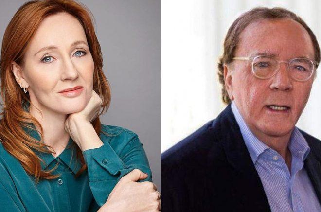 JK Rowling (foto: Debra Hurford Brown/pressbild Rabén & Sjögren) och James Patterson (foto: pressbild) är världens två bäst betalda författare enligt tidningen Forbes.