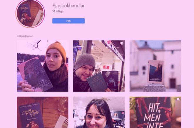 Den nya kampanjen #jagbokhandlar drog igång på Instagram på torsdagskvällen. Flera författare och andra bokälskare uppmanar folk att spendera lönen i sin lokala bokhandel och sedan lägga upp på Instragram.