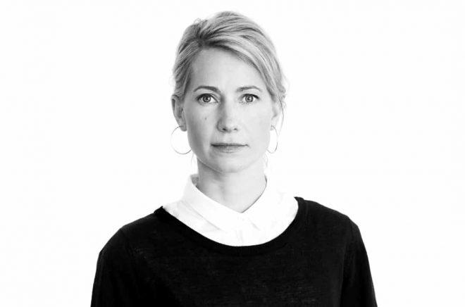 Jennie Sjöström, förlagschef på Libris. Foto: Anna Rönnqvist