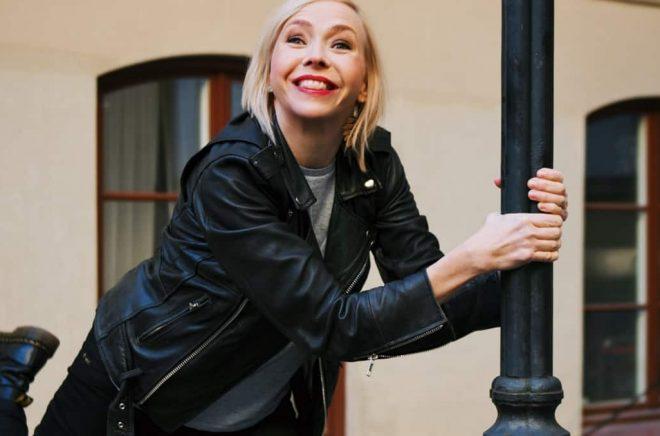 Författaren Jenny Jägerfeld. Foto: Hugo Thambert