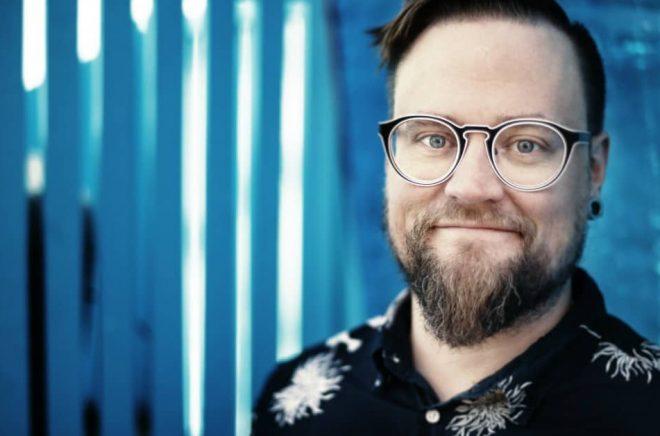 Jens Mattsson, författare till Vi är lajon. Foto: José Figueroa