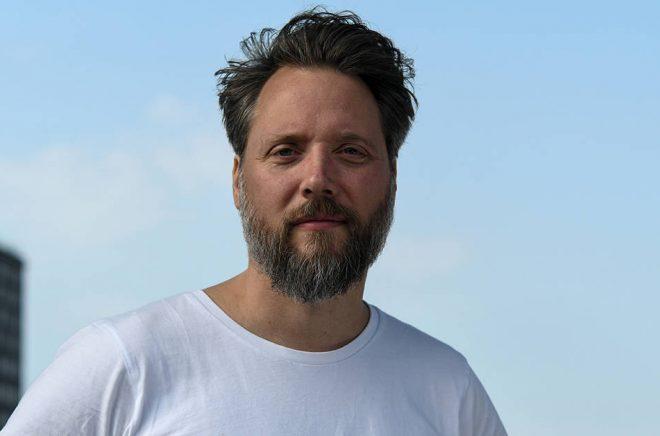 Johan Kimrin, Apart förlag. Foto: Magne Fridhill.