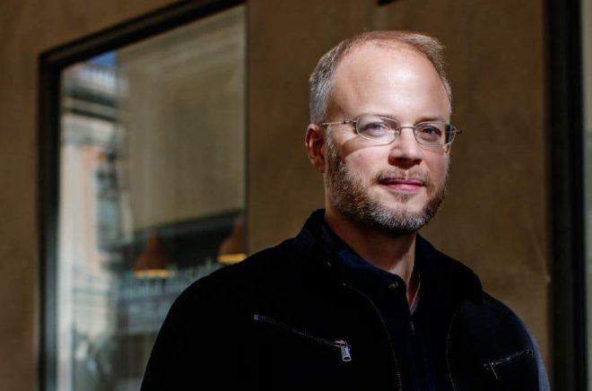 Författaren Johan Rundberg. Foto: Ylva Sundgren
