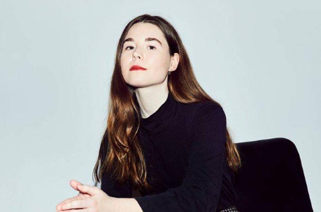 Debuterande författaren Johanna Hedman. Foto: Elvira Glänte