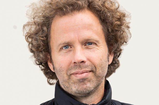 Johannes Sjöberg, ny förläggare på Bokförlaget Max Ström. Foto: Erik G Svensson.