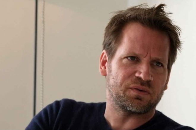 John Freeman, redaktör för Freeman's. Foto: Yrsa Axelsson Landström