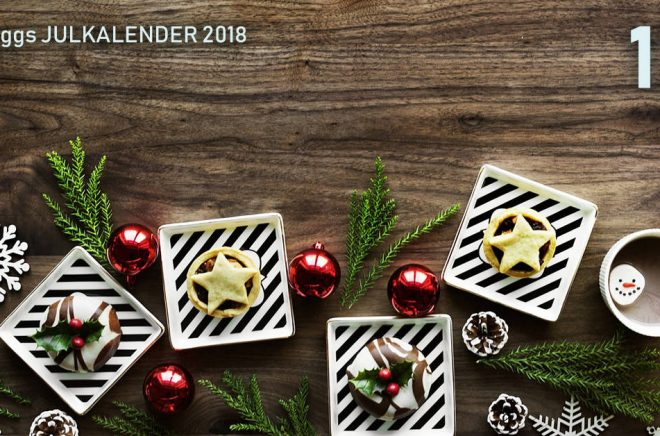 Boktuggs Julkalender 2018 - lucka 12. Bakgrundsbild: Pixabay.