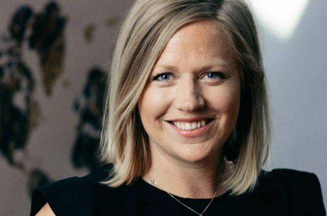 Karin Bjerde, Head of Strategic Growth på Kognity. Foto: Kognity