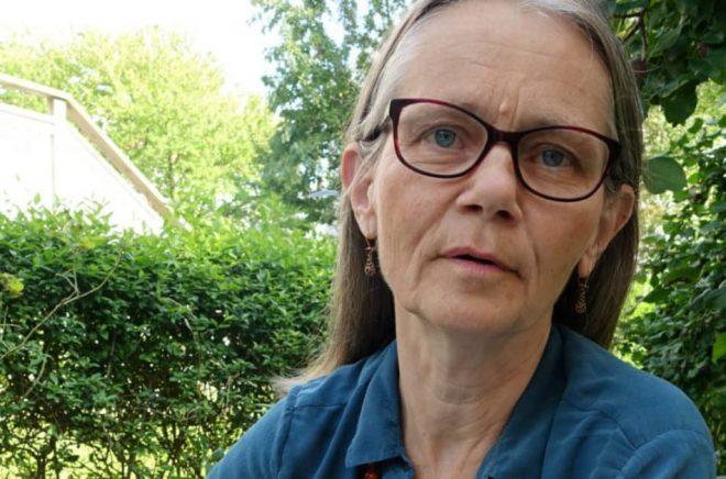 Översättaren Kajsa Öberg Lindsten.