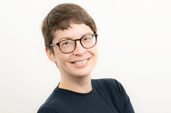Karin Porshage blir marknads- och pressansvarig på Sekwa förlag. Foto: Ola Kjelby.
