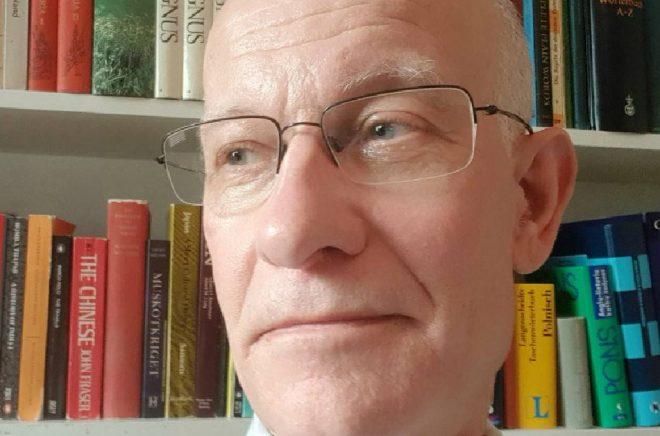 Karl Basilier, språknörd och författare. Foto: Privat