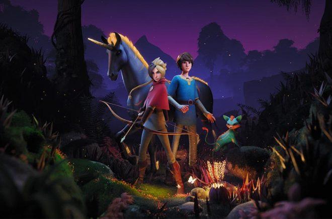 Barnboksserien Karma och Jonar blir animerad tv-serie på streamingtjänsten Viaplay. Bild: Viaplay Studios.