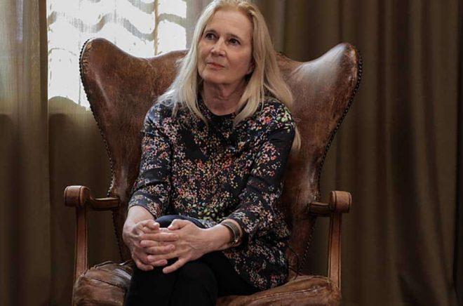 Författaren Katarina Frostenson. Foto: Peter Karppinen.