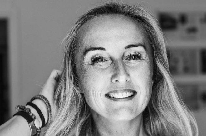 Katarina Wilk, författare. Foto: Johan Strindberg