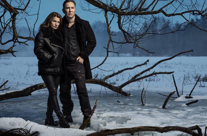 Lars Kepler är en pseudonym för författarna Alexandra Coelho Ahndoril och Alexander Ahndoril. Foto: Ewa-Marie Rundquist.