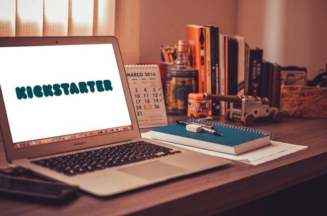 Kickstarter - inte bara bra för förlag och författare, kan gynna även bokhandlare. Foto: Pixabay. Bildmontage: Boktugg.