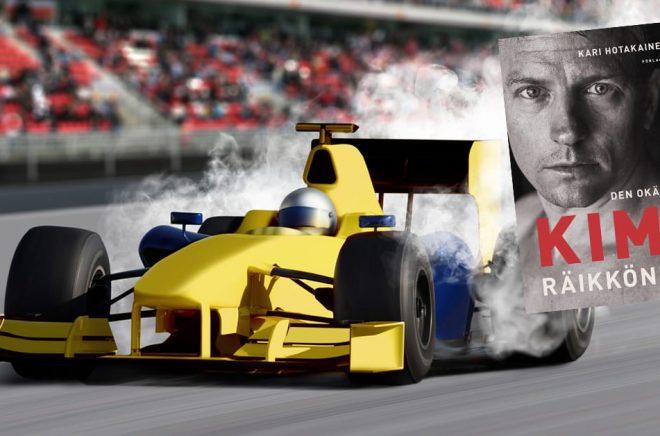 Formel 1 är populärt i Finland, det märks inte minst på försäljningen av en Kimi Räikkönens nya biografi. Foto: iStock.