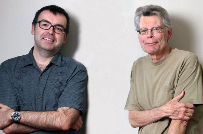 Stephen King & Owen King.  Foto: St Francis Collage