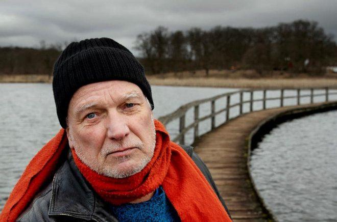 Författaren Kjell Eriksson. Foto: Emil Malmborg.