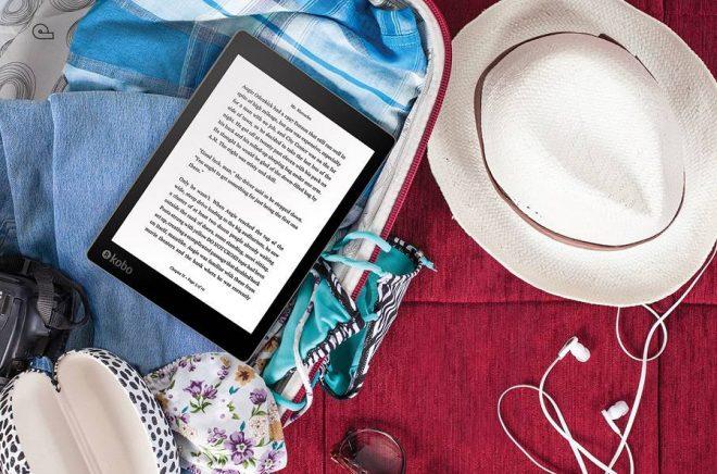 Kobo-AuraONE_Lifestyle_Travel_Reading