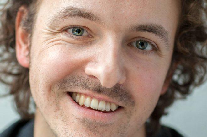 Författaren Kristian Hallberg. Foto: Susanne Hallman.