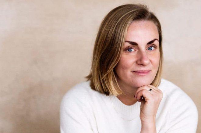 Debutanten Kristin Brorsson. Foto: Eva Lindblad