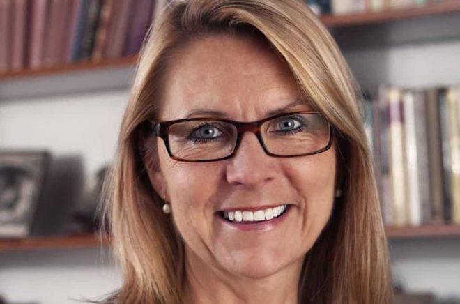 Kristina Ahlinder, VD Förläggareföreningen. Foto: Charlie Bennet