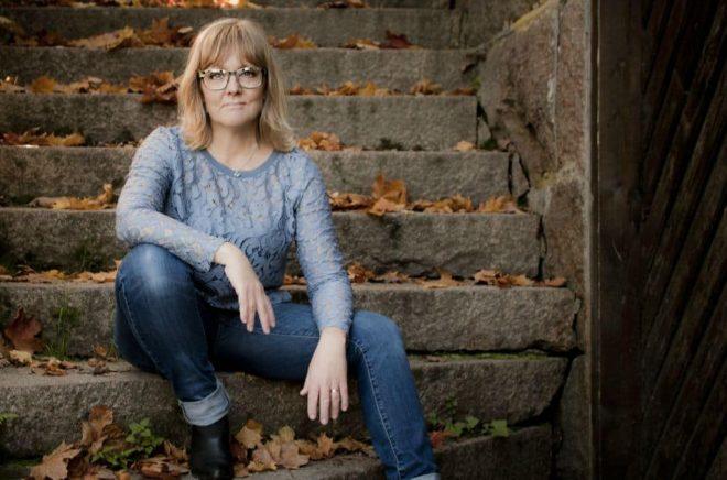 Kristine Lorentzson, författare och egenutgivare. Foto: Privat