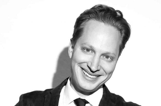 Kristoffer Lind, förlagschef Lind & Co Foto: Bingo Rimér.
