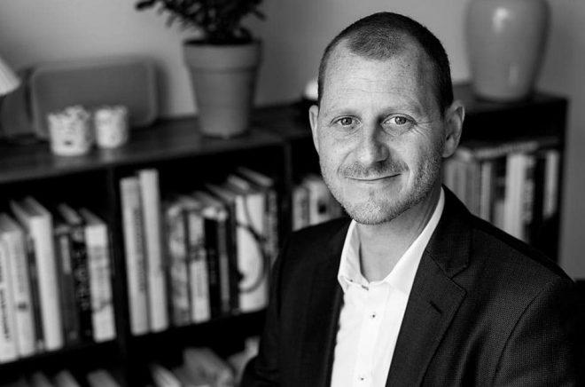 Lasse Horne, förlagsdirektör på Lindhardt Ringhofs digitalförlag Saga (som ingår i Egmontkoncernen). Foto: Saga Egmont.