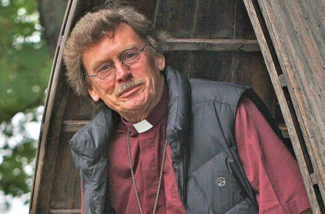 Lennart Koskinen, präst och författare. Foto: ?