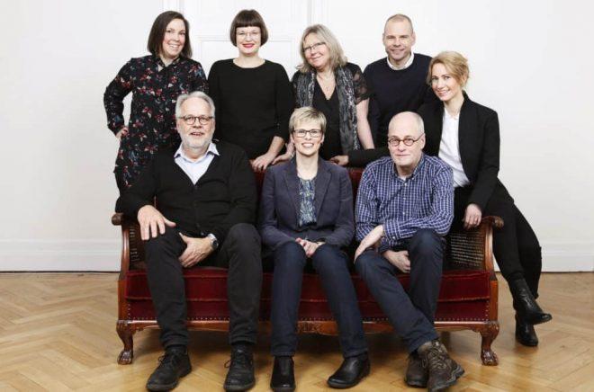 Libris förlag i samband med flytten från Örebro till Stockholm. Nu kommer bara två av åtta tjänster att finnas kvar, meddelar Libris norska ägare.