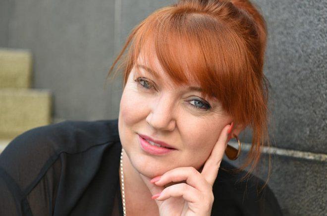 Lina Areklew, Sälj- och Marknadschef på Publit. Foto: Rosa Sundahl.