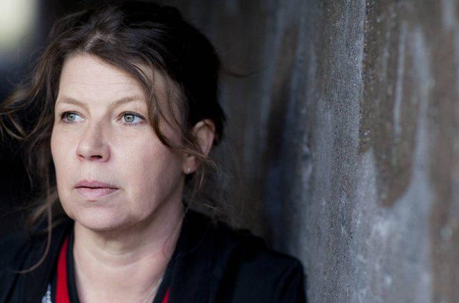 Poeten och dramatikern Lina Ekdahl. Foto: Lina Ikse.
