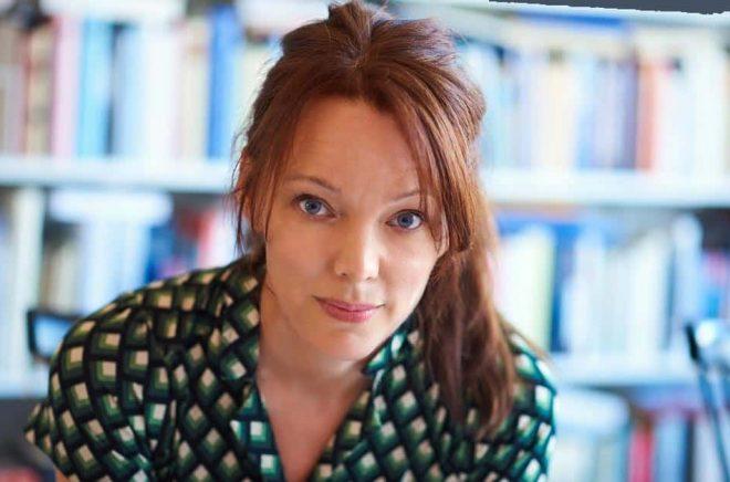 Författaren Lina Wolff. Foto: Gustav Bergman.