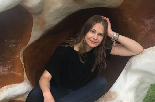 Forskaren och författaren Linda P. Sturesson. Foto: Marcela Cubura