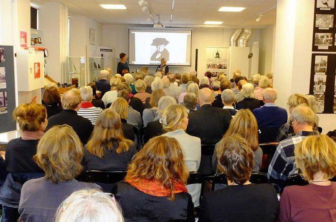Anna-Karin Palm var en av de författare som lockade mycket publik under LitterArt Gästabud i Nyköping 2019.