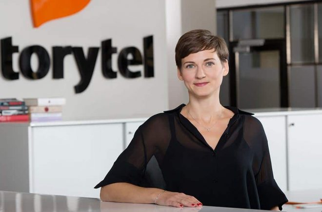 Lotten Skeppstedt blir ny landschef för Storytel Spanien. Foto: Magnus Liam Karlsson.