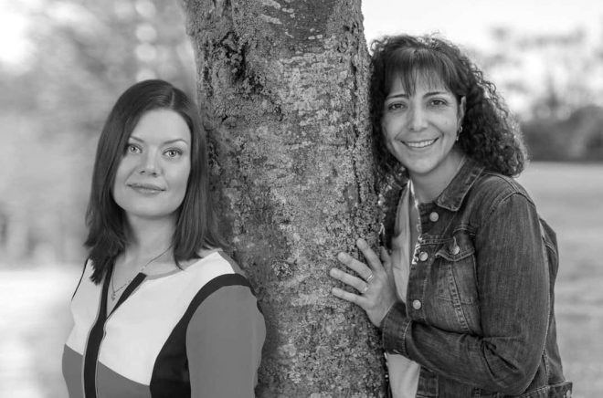 Madelene Lundvall och Yamilé Andreasson Craig, driver förlaget Everlasting Publisher.