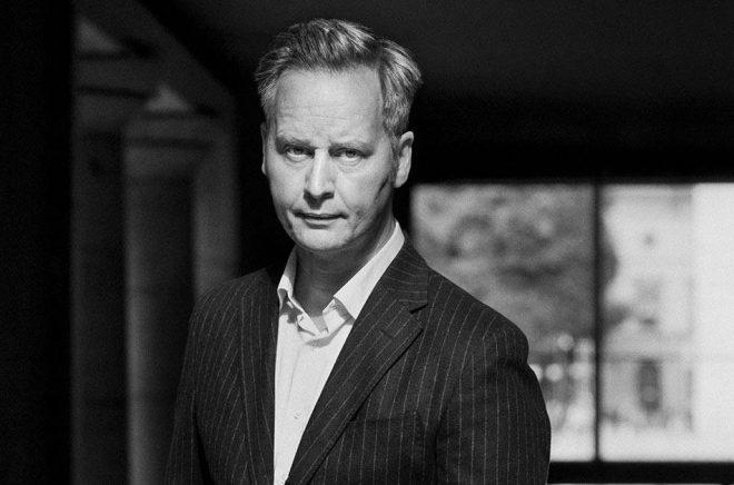 Författaren Magnus Montelius. Foto: Johanna Hanno.